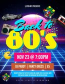 Back to the 80's - Cancelled