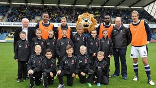 U10s Youth And President Barry Griffiths At Millwall Vs Derby