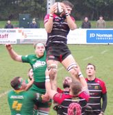 Lydney rampant over the Green Army