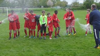 Binfield Vikings U12's crowned Division 2 Champions