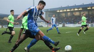 Lloyd Marsh-Hughes joins Marine on loan