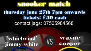 Snooker Match at Hanging Heaton CC