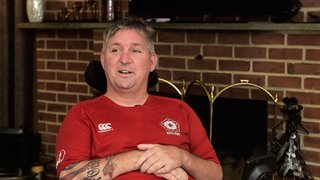 Warwick alum, West Hempfield Township resident Mike Deeley advocates for those like him suffering from ALS
