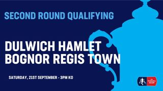Dulwich Hamlet drawn at home to Bognor Regis in FA Cup