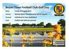 Belper Town FC Golf Day