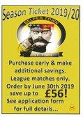 Season tickets now on sale with major savings