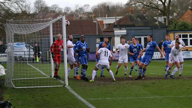 Last minute goal denies Nailers victory at Kidsgrove.