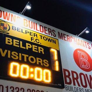 Belper put seven past Sutton Coldfield Town