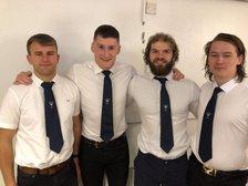 Melbourne's Fantastic Four represent Derbyshire Seniors