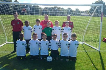 Under 11s ready for the new season!