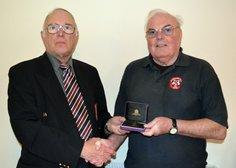 50 years FA Award for Jimmy