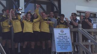 U17 win the cup Apr 15