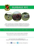 Burbage RFC are Recruiting Players for 2019-20
