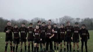 Hungerford U14s beat Bracknell Bees in the first round of the Berkshire Development Cup