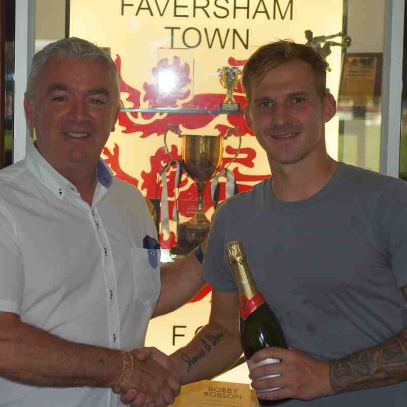Man-of-the-Match for Danny Walder