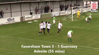 Faversham vs. Guernsey - Highlights