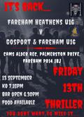 Friday Night Thriller Night - U16 FH v G&F