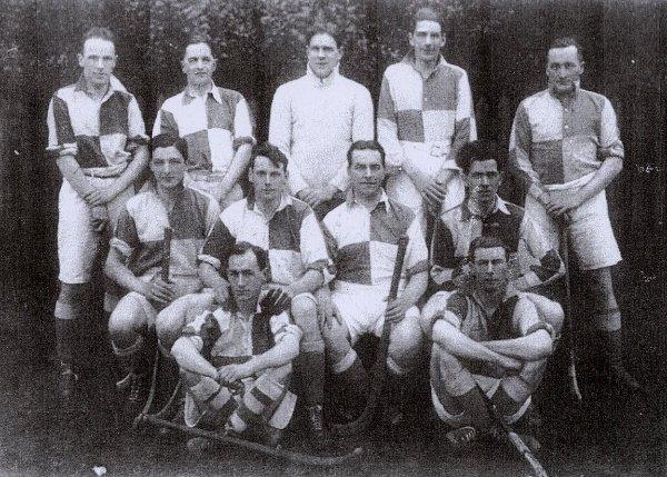 1926/27 Thirsk Hockey ClubBack Row: G Brown, I. A. Sleightholme, H Bulmer, C Pearson, M ListerCentre Row: E. R. Jackson, L Ryder, H Greenwood, P CampbellFront Row: F. S. Constable, H Walker