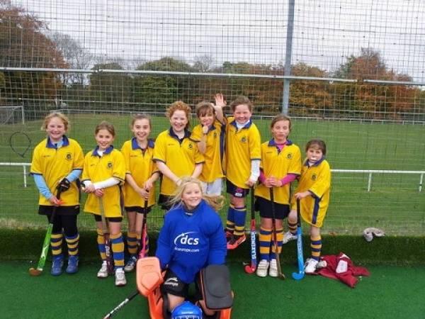U12 Girls B team Oct 2012