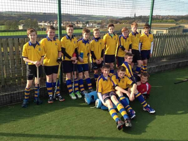 U14 Boys Nov 2014. Left to right: Alex, Will, Sean, James F, Paddy, James H, Ben(capt), Jonathan and Michael.