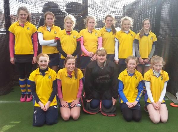 U14 Girls B Squad.