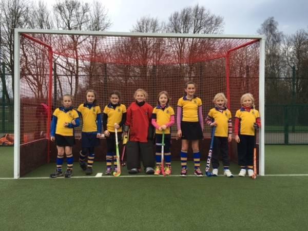 U10 girls Cougar team, 2015/16.