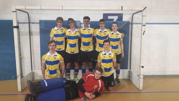U18 Boys Indoor Team.