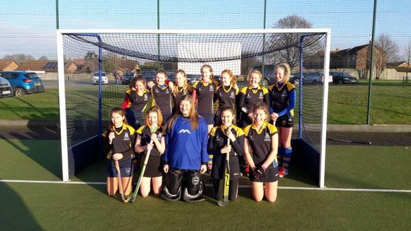 U14 Girls A team Jan 2017.