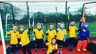 The U10 boys A team gain another promotion.