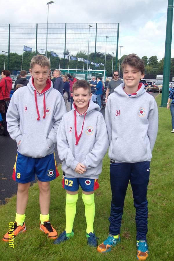 U13 boys North East Championship