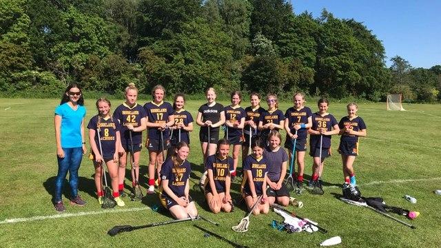 Brooklands U18s and U13s play Moreton Hall girls