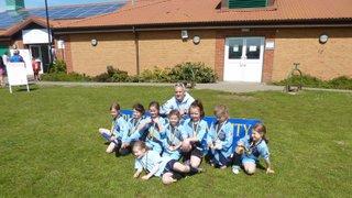 U8s at Rushmoor Tournament