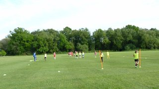 U10/11 Training with Tyler from Chelsea FC