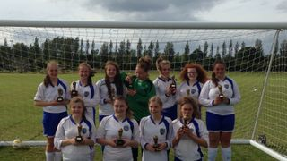 U15 Girls Plate Winners 2015