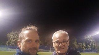Delaney with Claudio Raneri