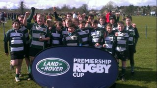 U12s in Landrover Premiership Cup