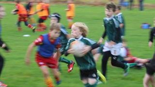 SWRFC U9 fixture with Cambridge RFC 15/10/17