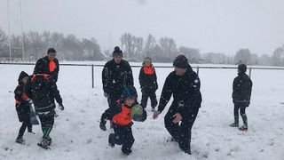 Festive Touch Rugby
