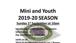 SWRFC - 2019-20 Membership