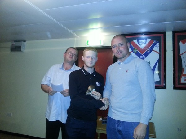 Leon Hough - Player of the Year