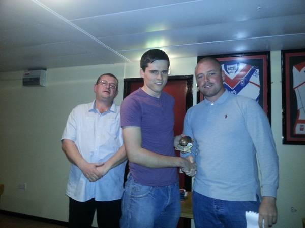 Sam Walker - Coaches Award