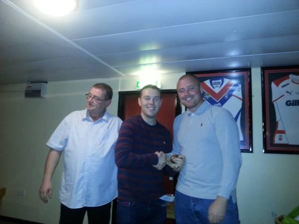 Dylan Edge - Coaches Award