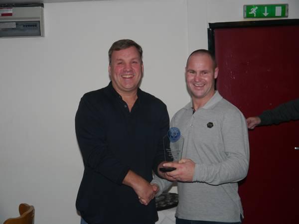 Player's player of the Year Runner Up - Ste McDermott