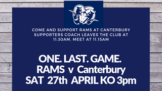 SUPPORTERS BUS TO CANTERBURY  - IMPORTANT CHANGES