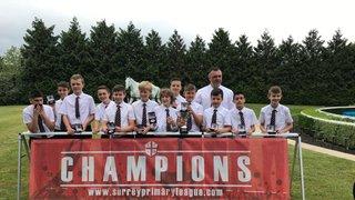 Kempton Park League Winners Presentaion 2018/19