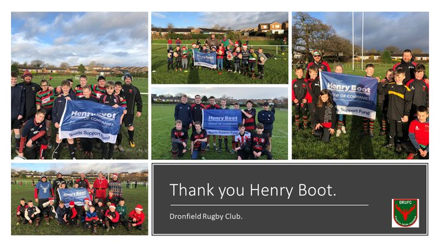 Thank you Henry Boot.