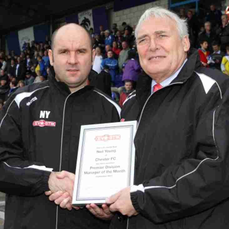 Evo-Stik League Premier Division Manager of the Month