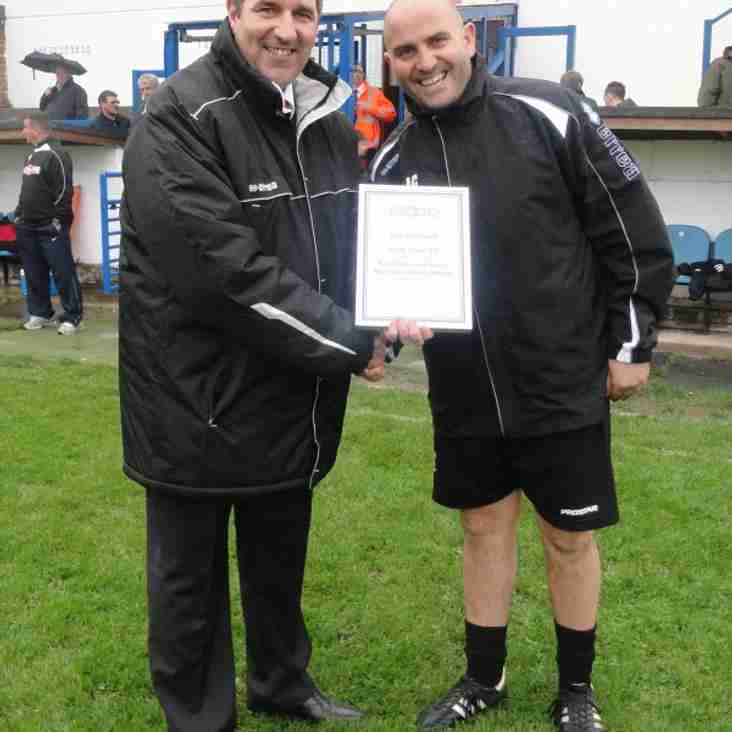 Evo-Stik League First South Manager of the Month