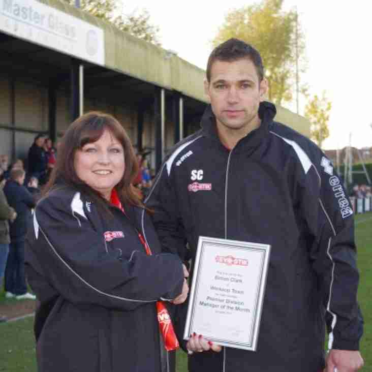 Premier Division Manager of the Month - October