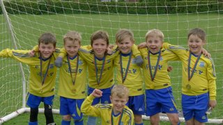 U8s win Selby League Final - Champions well done
